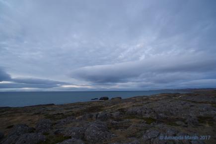 Skagaströnd coastline