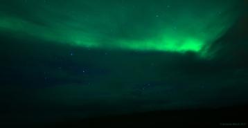 Aurora over Hellisandur