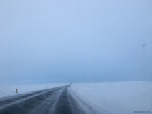 Driving snow, challenging conditions