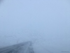 Driving conditions in the highlands