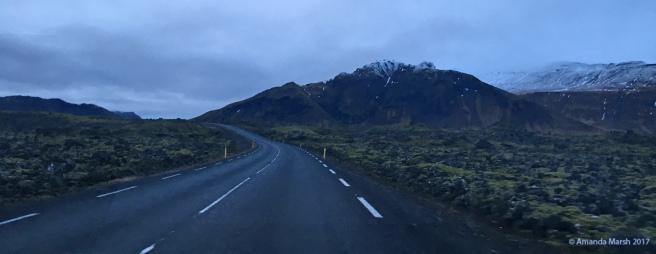 Lava fields, south side of Snaefellsnes