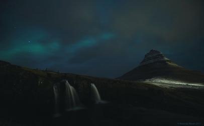 Kírkjufell, Kírkjufellfoss & aurora