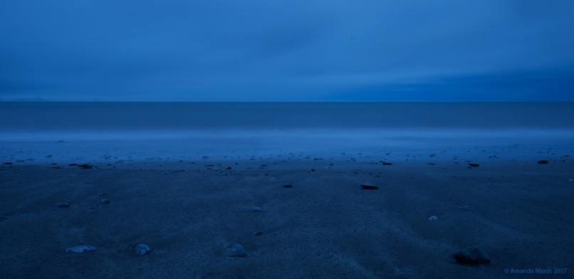 Black sand + long exposure = gothic novel