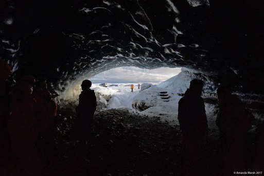 Ice cave Breiðfjalljökul