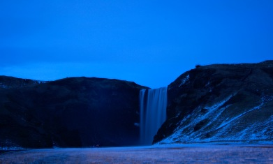Skógafoss sunset